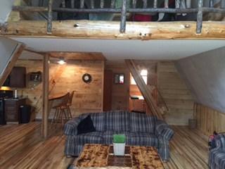 a-frame-interior-living-room